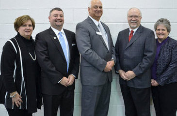 (From left) Pamela Allen, Christopher Parker, Ron Haley, David Purvis and Margie Eason